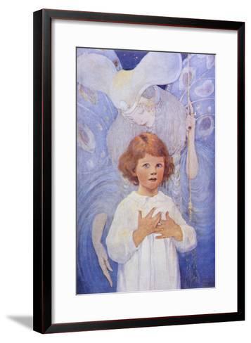 Fairy Godmother Angel-Jessie Willcox-Smith-Framed Art Print