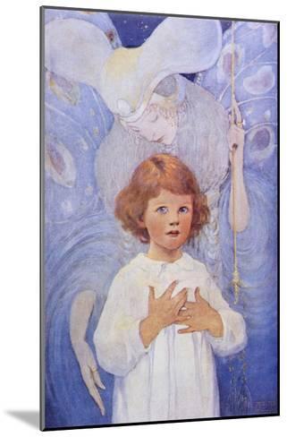 Fairy Godmother Angel-Jessie Willcox-Smith-Mounted Giclee Print