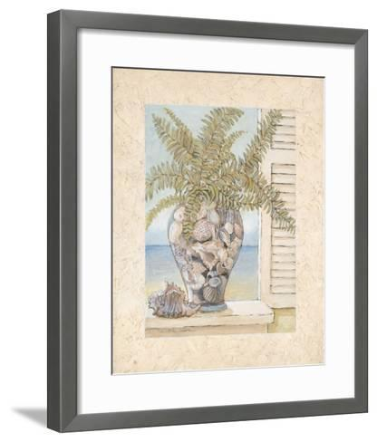 Seashell Creation I-Charlene Winter Olson-Framed Art Print
