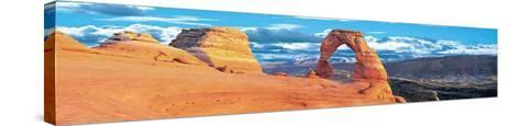 Arches National Park, Delicate Arch-James Blakeway-Stretched Canvas Print