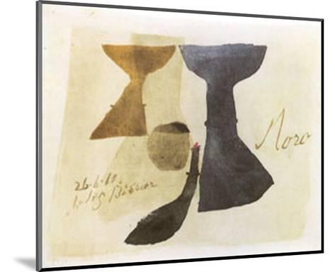 26.6.61 Moro, c.1961-Julius Bissier-Mounted Art Print