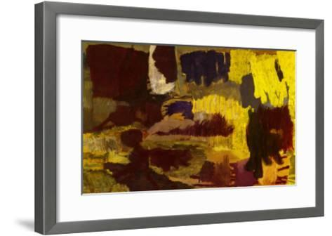 Untitled, c.1991-Per Kirkeby-Framed Art Print