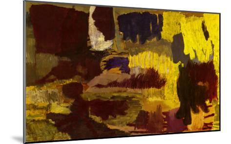 Untitled, c.1991-Per Kirkeby-Mounted Art Print