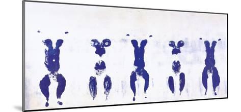 Untitled, Anthropometry, c.1960 (ANT100)-Yves Klein-Mounted Art Print