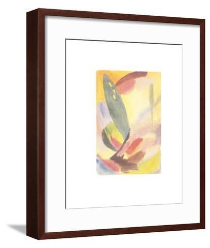 Variation: Lone Green Tree, c.1917-18-Alexej Von Jawlensky-Framed Art Print