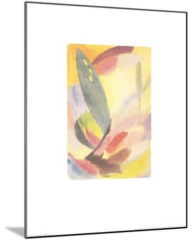 Variation: Lone Green Tree, c.1917-18-Alexej Von Jawlensky-Mounted Art Print