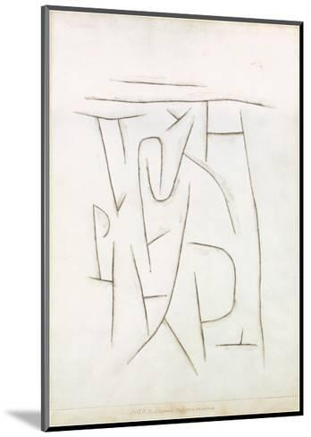 Fragments of the Area from Long Ago, c.1937-Paul Klee-Mounted Art Print