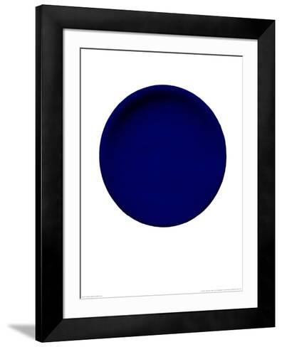 Blue Disk, c.1957 (IKB54)-Yves Klein-Framed Art Print