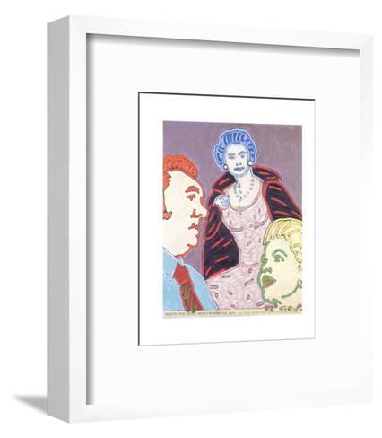 The Queen as a Hollywood Star, c.1972-C^o^ Paeffgen-Framed Art Print