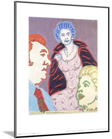 The Queen as a Hollywood Star, c.1972-C^o^ Paeffgen-Mounted Art Print