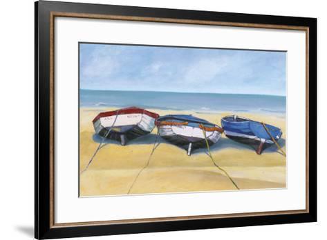 Beach Boats, St. Ives-Jane Hewlett-Framed Art Print