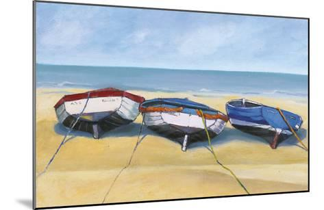 Beach Boats, St. Ives-Jane Hewlett-Mounted Art Print