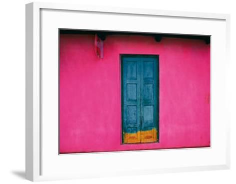 Fachada Rosa, Teopisca, Mexico-Jeffrey Becom-Framed Art Print