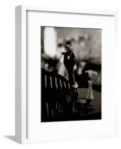 Hattie's Cigarette, Images of Harlem-Gerald Cyrus-Framed Art Print