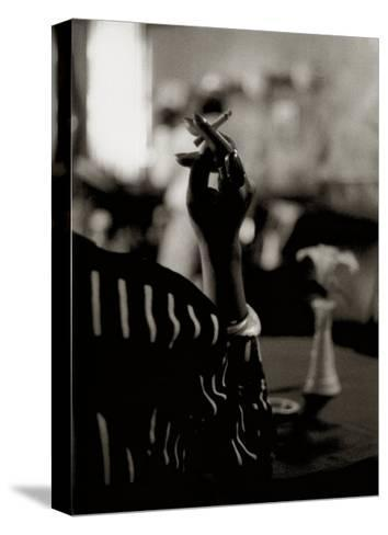 Hattie's Cigarette, Images of Harlem-Gerald Cyrus-Stretched Canvas Print