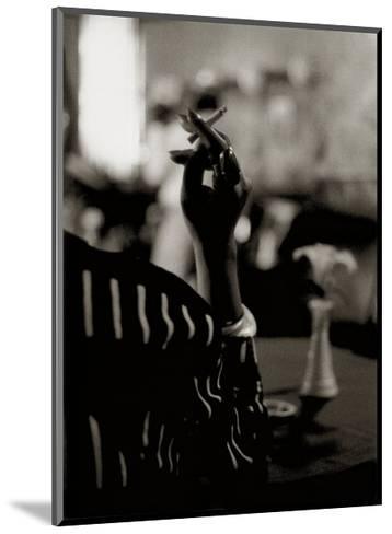 Hattie's Cigarette, Images of Harlem-Gerald Cyrus-Mounted Art Print