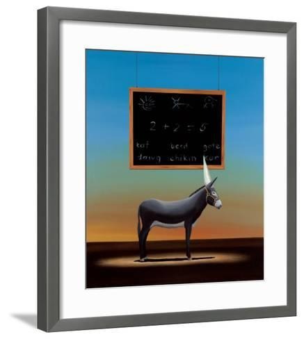 Dumb Ass-Robert Deyber-Framed Art Print