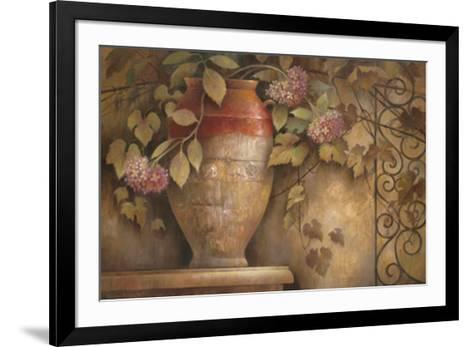 Affresco di Fiore I-Elaine Vollherbst-Lane-Framed Art Print