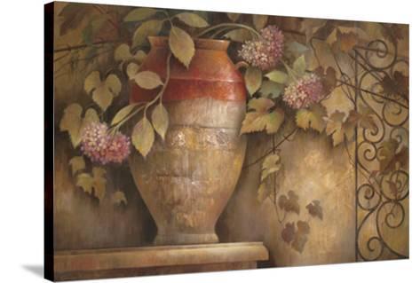 Affresco di Fiore I-Elaine Vollherbst-Lane-Stretched Canvas Print