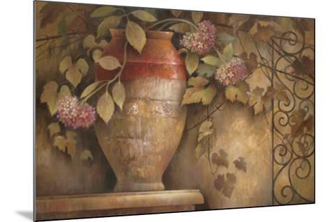Affresco di Fiore I-Elaine Vollherbst-Lane-Mounted Art Print