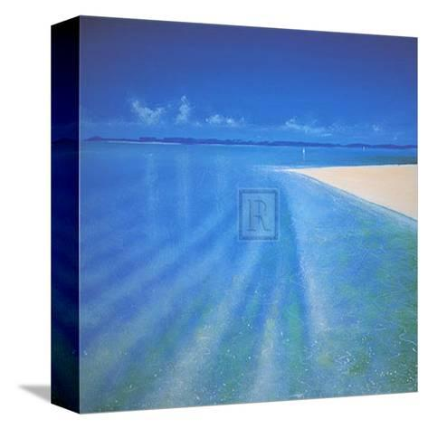 Sandy Bay II-Richard Pearce-Stretched Canvas Print