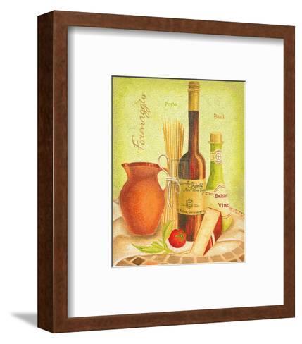 Cuisine du Monde III-Sophia Sanchez-Framed Art Print