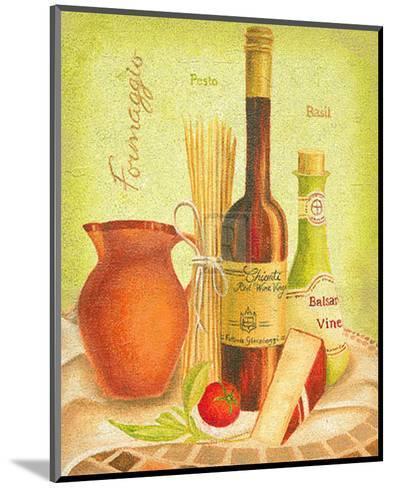 Cuisine du Monde III-Sophia Sanchez-Mounted Art Print