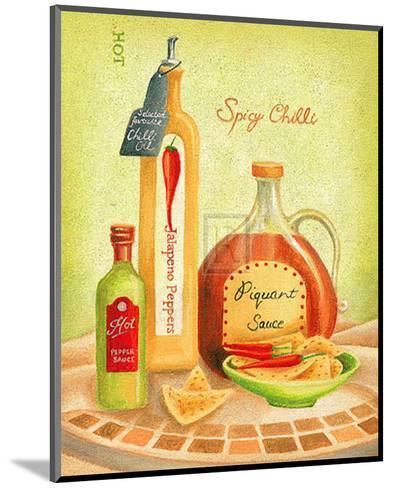 Cuisine du Monde IV-Sophia Sanchez-Mounted Art Print