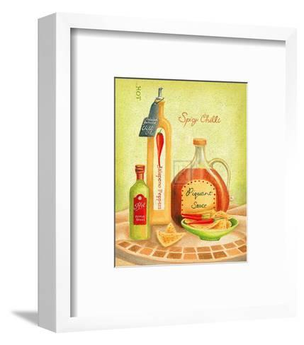 Cuisine du Monde IV-Sophia Sanchez-Framed Art Print