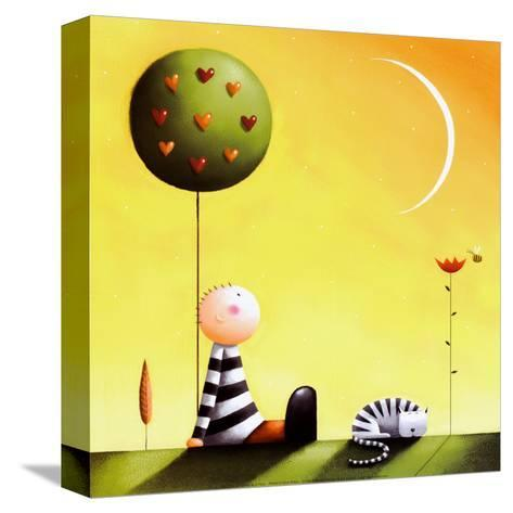 Dreaming-Jo Parry-Stretched Canvas Print