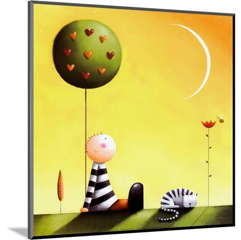 Dreaming-Jo Parry-Mounted Art Print