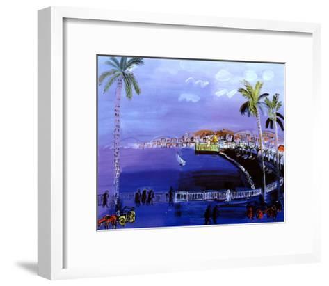 Baie des Anges, Nice-Raoul Dufy-Framed Art Print