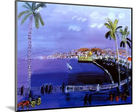 Baie des Anges, Nice-Raoul Dufy-Mounted Art Print