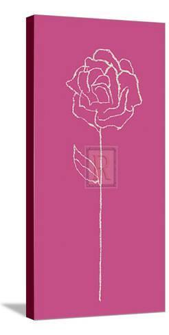 Romantic Rose I-Alice Buckingham-Stretched Canvas Print