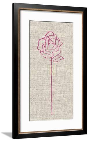Romantic Rose II-Alice Buckingham-Framed Art Print
