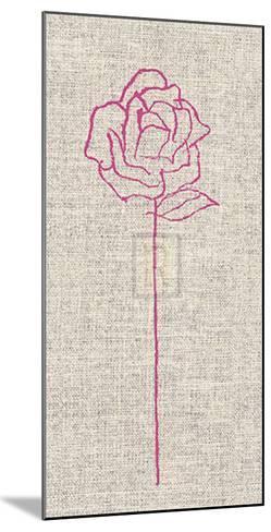 Romantic Rose II-Alice Buckingham-Mounted Art Print