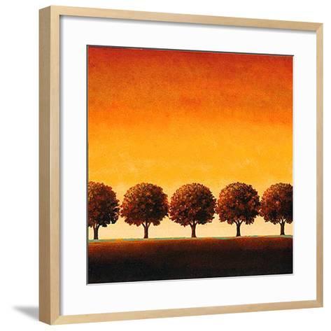 Sunset Valley I-Sophia Sanchez-Framed Art Print
