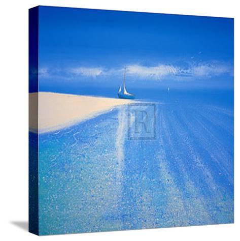 Sandy Bay III-Richard Pearce-Stretched Canvas Print