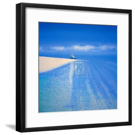 Sandy Bay III-Richard Pearce-Framed Art Print