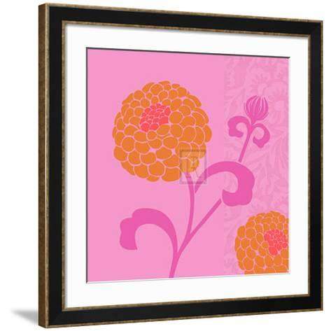 Chrysanthemums I-Max Carter-Framed Art Print