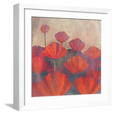 Poppies II-Robert Holman-Framed Art Print