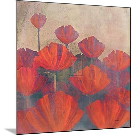 Poppies II-Robert Holman-Mounted Art Print