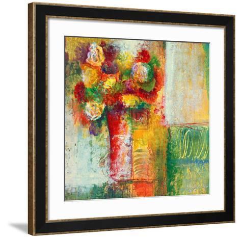 Blooms I-Josiane York-Framed Art Print