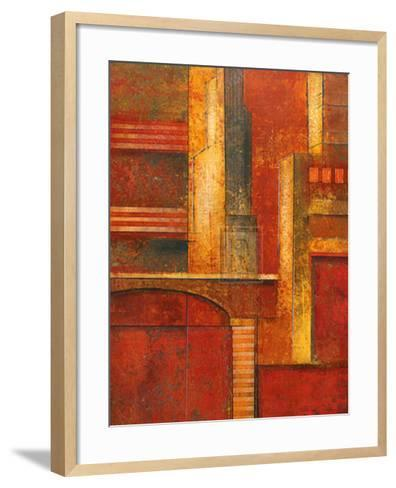 City Towers I-Giovanni-Framed Art Print