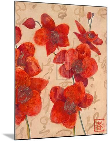 Asian Orchid I-Jennifer Hollack-Mounted Art Print