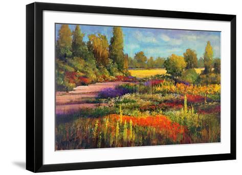 Summer Garden-James McIntosh Patrick-Framed Art Print