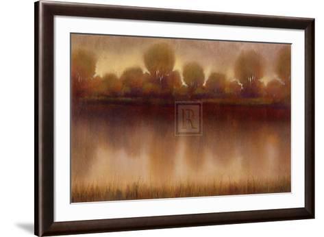 Marsh of the Warm Sunset-Albert Williams-Framed Art Print