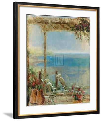 Ocean Retreat II-Stiles-Framed Art Print