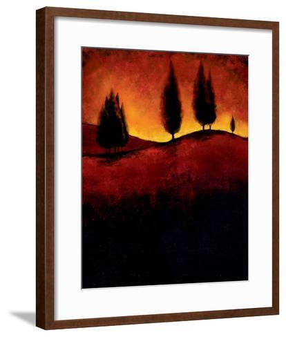 Vermillion Pastoral III-J^ Molando-Framed Art Print