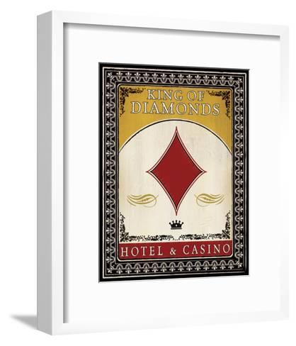 Hotel and Casino--Framed Art Print